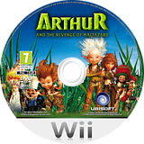 Arthur and the Revenge of Maltazard Wii disc (R8RP41)