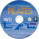 Daisy Fuentes Pilates Wii disc (R8ZPGT)