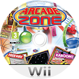 Arcade Zone Wii disc (R9XP52)