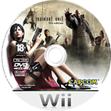 Resident Evil 4: Wii Edition Wii disc (RB4X08)