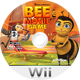 Bee Movie Game Wii disc (RBEP52)
