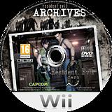 Resident Evil Archives: Resident Evil Zero Wii disc (RBHP08)