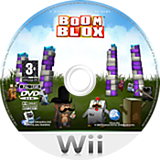 Boom Blox Wii disc (RBKP69)