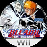 Bleach: Shattered Blade Wii disc (RBLP8P)