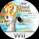 Barbie as The Island Princess Wii disc (RBVP52)