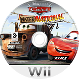 Cars: Mater-National Wii disc (RC2Y78)