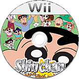 Shin Chan The New Adventures For Wii Wii disc (RC4SGT)