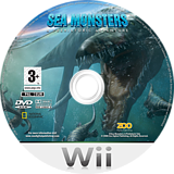 Sea Monsters: A Prehistoric Adventure Wii disc (RC7P7J)