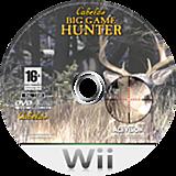 Cabela's Big Game Hunter Wii disc (RCBP52)