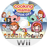 Cooking Mama Wii disc (RCCPGT)