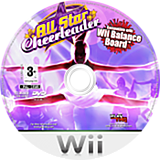 All Star Cheerleader Wii disc (RCXP78)