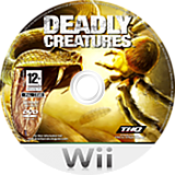 Deadly Creatures Wii disc (RDCP78)