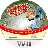 Spy Fox In Dry Cereal Wii disc (RDLP70)