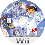 Dora Saves the Snow Princess Wii disc (RDPP54)