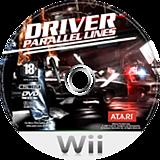 Driver: Parallel Lines Wii disc (RDVP41)