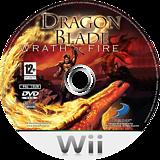 Dragon Blade: Wrath of Fire Wii disc (RDWPG9)