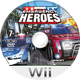 Emergency Heroes Wii disc (REHP41)