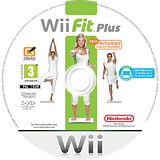 Wii Fit Plus Wii disc (RFPP01)