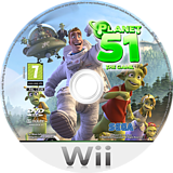 Planet 51: The Game Wii disc (RGAP8P)