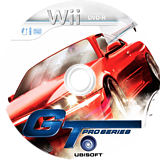 GT Pro Series Wii disc (RGTP41)