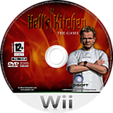 Hell's Kitchen Wii disc (RH2P41)