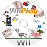 Wii Play Wii disc (RHAP01)