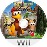 Crazy Chicken Tales Wii disc (RHVPFR)