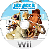 Ice Age 3: Dawn of the Dinosaurs Wii disc (RIAP52)