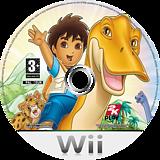 Go, Diego, Go! Great Dinosaur Rescue Wii disc (RIGP54)