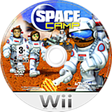 Space Camp Wii disc (RIYP52)
