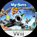 MySims Sky Heroes Wii disc (RJ6P69)