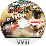 Score International Baja 1000: World Championship Offroad Racing Wii disc (RJCP52)