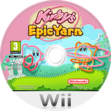Kirby's Epic Yarn Wii disc (RK5P01)