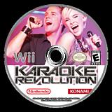 Karaoke Revolution Wii disc (RK9PA4)