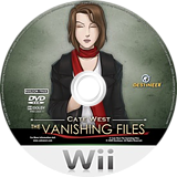 Cate West: The Vanishing Files Wii disc (RKEPGN)