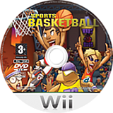 Kidz Sports: Basketball Wii disc (RKSPUG)