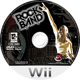 Rock Band Wii disc (RKXP69)