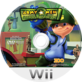 Army Men: Soldiers of Misfortune Wii disc (RKYP7J)