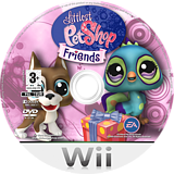 Littlest Pet Shop: Friends Wii disc (RL7P69)