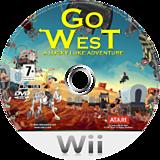 Go West: A Lucky Luke Adventure Wii disc (RLLP70)