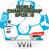 World Championship Sports Wii disc (RLQP52)