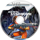 Alien Syndrome Wii disc (RLSP8P)