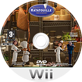 Ratatouille Wii disc (RLWY78)
