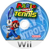 Mario Power Tennis Wii disc (RMAP01)