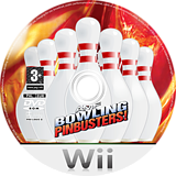 AMF Bowling Pinbusters! Wii disc (RMFP68)