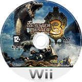 Monster Hunter Tri Wii disc (RMHP08)