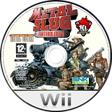 Metal Slug Anthology Wii disc (RMLP7U)