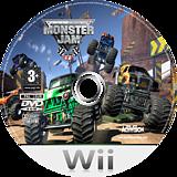 Monster Jam Wii disc (RMOP52)