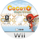 Cocoto Magic Circus Wii disc (RMRPNK)
