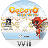 Cocoto Magic Circus Wii disc (RMRXNK)